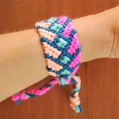 Crazy Friendship Bracelet DIY