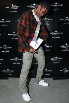 15 Ways To Dress Like Streetwear Supremo Travis Scott Travis Scott Outfits, Travis Scott Fashion, Travis Scott Clothing, Travis Scott Style, Mode Streetwear, Streetwear Fashion, Hip Hop Fashion, Mens Fashion, Fashion Wear