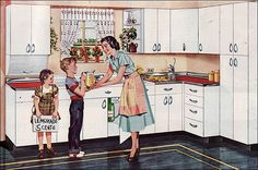 1949 Youngstown Kitchen by American Vintage Home, via Flickr