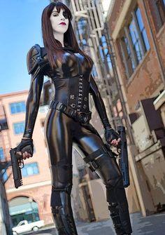 Domino (Xmen) par Jessica Muniz