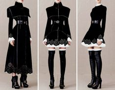black and melty red — Alexander McQueen pre-fall 2013 Pretty Outfits, Pretty Dresses, Beautiful Outfits, Cool Outfits, Red Dress Outfit, The Dress, Dress Outfits, Dress Long, Old Fashion Dresses