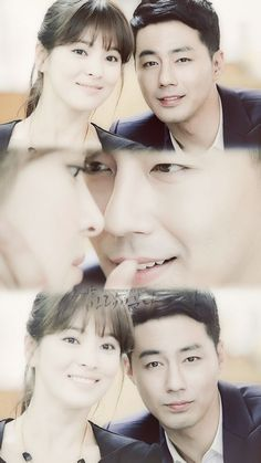"""Jo In Sung with Song Hye Gyo in """"The Winter, the Wind Blows"""""""