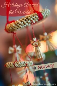 year we officially welcomed in a new member of the family when my sister married her boyfriend, of two years, from Norway. The Norwegian culture is not one I thought about often prior to around the world Holidays Around the World: Norway Norway Christmas, Holidays In Norway, Christmas Tree Forest, Norwegian Christmas, Scandinavian Christmas, Scandinavian Food, Christmas Travel, Christmas Dishes, Christmas Holidays