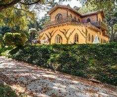 Vista para o Chalet da Condessa D'Edla - Sintra