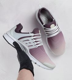 61516a8e9ec Explore The Maroon Nike Air Presto Custom Sneakers From Our Ombre  Collection. If You Love