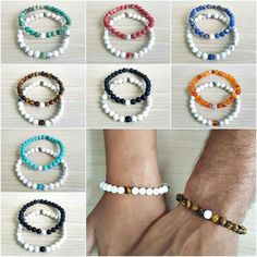 When it comes to buying jewelry, you may wonder where you should get it from. Best Friend Bracelets, Bracelets For Men, Matching Couple Bracelets, Couple Necklaces, Hippie Jewelry, Beaded Jewelry, Gemstone Bracelets, Jewelry Bracelets, Relationship Jewelry