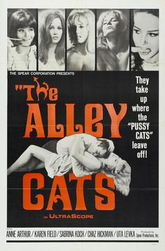 THE ALLEY CATS (1963). Adrian Curry looks back at the work of Radley Metzger, the erstwhile king of high-class erotica, and the poster artwork that elevated and outlived his cinema... Read the full article here: https://mubi.com/notebook/posts/movie-poster-of-the-week-the-films-of-radley-metzger