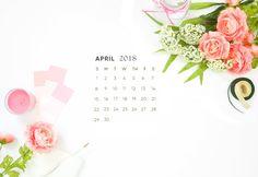 computer desktop calendar 2018