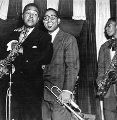 Charlie Parker, Dizzy Gillespie et John Coltrane.