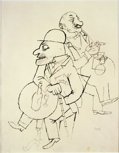 Grosz Degenerate Art, Expressions, Life Drawing, Artist Art, Caricature, Line Art, Modern Art, Graphic Art, Illustration Art