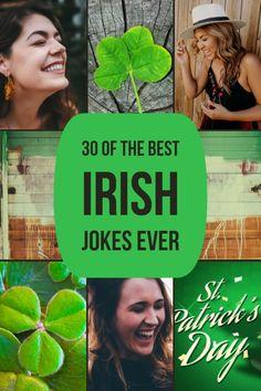 30 Best Irish Jokes That Will Make You Laugh Out Loud(Guaranteed) Irish Celtic, Irish Men, Funny Irish Jokes, Irish Humor, Irish Quotes, Irish Sayings, Irish Language, Irish Eyes Are Smiling, Irish Pride