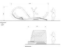 Gallery of Visual Permeability Pavilion / Columbia University Graduate School of Architecture Team - 3