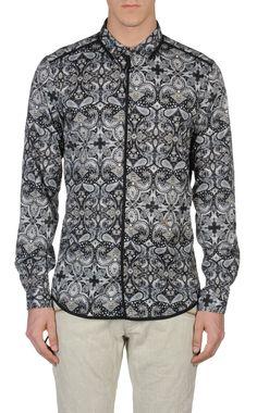 Camicia maniche lunghe Uomo - Camicie Uomo su Just Cavalli