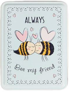 Plåtburk Always Bee - Sass & Belle - RumAttÄlska.se
