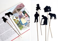 UKKONOOA: Itse tehty varjoteatteri / DIY Shadow Puppet Theatre Cute Kids Crafts, Textiles, Shadow Puppets, Flea Market Finds, Storytelling, Activities For Kids, Upcycle, Paper Crafts, Puppet Theatre