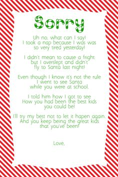 Tales of a Disorganized Mom: For the other disorganized moms out there who forgot to move the Elf last night!