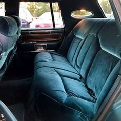 """LincolnMotorCar Showcase (@badwf) on Instagram: The rear velour seating of an 1983 Lincoln Continental Mark VI Signature Series  #Lincoln…"""""""