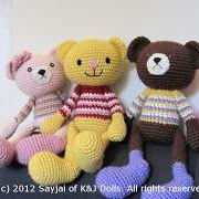 Amigurumi Crochet Patterns by Sayjai Thawornsupacharoen.