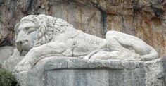 The Bavarian Lion. Probably the best reason to take the train tour when visiting Nafplio. A little out of the way but certainly worth seeing Sculptures, Lion Sculpture, Train Tour, Major Events, Top Travel Destinations, Statues, Greece, Dots, Carving