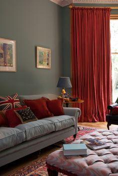 Sinclairs Interiors Red Home Decor, Home Decor Colors, Living Room Grey,  Living Room