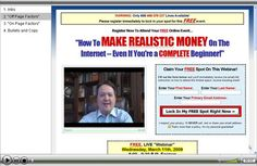 Squeeze Page Conversion: FREE Video Shows How to Get a 75%+ Optin ...