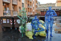 Arte urbana di Danilo Marchi - Bergamo estate 2014