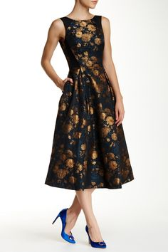 Charlet Raised Back Dress by Ted Baker London on @nordstrom_rack