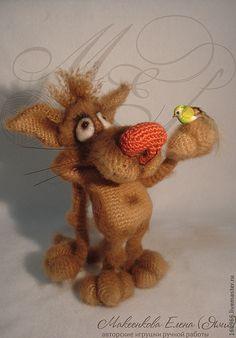 Волченок Гриня - коричневый,волк,волченок,авторская работа,игрушки,Авторские игрушки