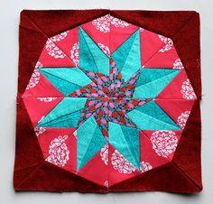 Paper Piecing star 3 by wombatquilts, via Flickr