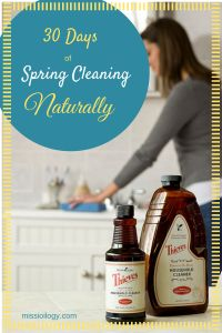 30 Days of Spring Cleaning Naturally