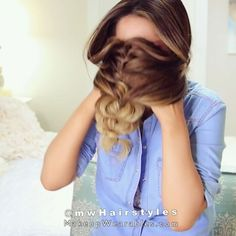 """57.1k Likes, 1,424 Comments - MakeupWearables Hairstyles ★ (@mwhairstyles) on Instagram: """"Last week's, Instagram HACKS Tested video clip, full video link's in bio 👭😍 👉 @mwHairstyles . .…"""""""