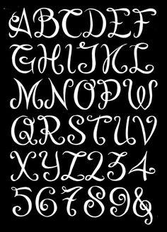 Showcase - Krul letters