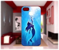 Little Mermaid Surface case For iPhone 4/4S iPhone 5 Galaxy S2/S3/S4 | GlobalMarket - Accessories on ArtFire