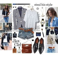 A fashion look from February 2013 featuring Pull&Bear tops, MANGO blazers i Givenchy oxfords. Browse and shop related looks.
