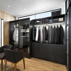 Schmidt garderobe I Model: Arcos - Farger: Celest, Zonza og Caneo Schmidt, Mens Slippers, Store Design, House Design, Closet, Promotion, Home Decor, Room Ideas, Bows