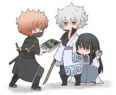 Chibi Boy, Anime Chibi, Anime Art, Katsura Kotaro, Gintama Wallpaper, Dazai Bungou Stray Dogs, Comedy Anime, Okikagu, Anime Angel