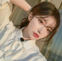 Love these cute korean fashion 7308 Pretty Korean Girls, Cute Korean Girl, Asian Girl, Korean Girl Ulzzang, Mode Ulzzang, Ulzzang Girl Selca, Korean Makeup, Korean Beauty, Asian Beauty