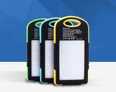 awesome SIBAINA Solar Power Bank Dual USB Powerbank 8000mAh External Battery Portable Charger Bateria Externa Pack for Mobile phone