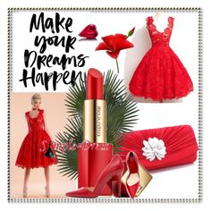 """""""Simpe-dress# II-17"""" by merima-musanovic ❤ liked on Polyvore featuring Estée Lauder, vintage, Prom, Spring, dress, wedding and bridal"""