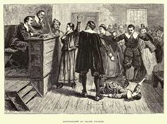 The Salem Witch Trial, Still Deadly After All These Years - http://www.newenglandhistoricalsociety.com/salem-witch-trial-still-deadly-years/