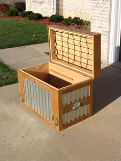 Tack Trunk II - I like the netting on the lid to hold polos or other little horse supplies