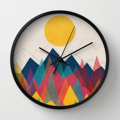 BUY: http://society6.com/product/uphill-battle-2z8_wall-clock?curator=4thecrime