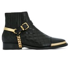 Balmain padded buckle ankle boots ▶️ click to shop  https://shoppers.theshopally.com/sophie-etchart/20160915/balmain-padded-buckle-ankle-boots-click-to-shop