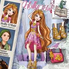 Ever After High, Disney Descendants Dolls, Personajes Monster High, Cartoon As Anime, Anime Chibi, Cartoon Characters, Character Questions, Ever After Dolls, Dragon Games