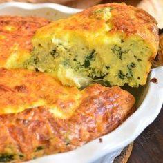 Spinach Artichoke Crustless Quiche - Will Cook For Smiles