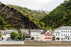 On the Rhine River in the Netherlands