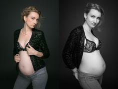 Garder un joli souvenir de sa grossesse avec de belles images réalisées en studio par Amélie Soubrié, photographe spécialisée en grossesse exclusivement.