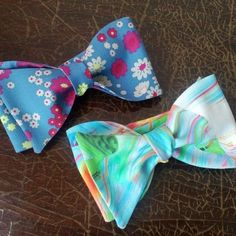 Blue bow tie for men's outfit. Back in stock