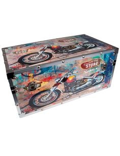 Sisustusarkku, Motorcycle, Keskikoko - Leatherheaven.com verkkokaupasta. Kaikki koot alk. 59,90e