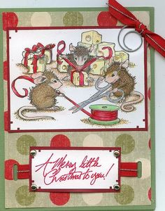 House Mouse Wrappings by Thimbles3 @2peasinabucket
